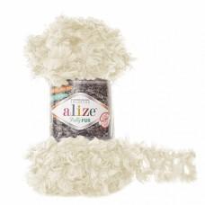 Пряжа для вязания Ализе Puffy Fur (100% полиэстер) 5х100г/6м цв.6113