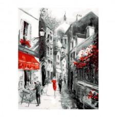 Картины по номерам Molly KH0820 Улочка старого города (21 цвет) 40х50 см