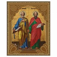 Картина 5D мозаика с нанесенной рамкой Molly KM0796 Святые Апостолы Петр и Павел (13 цветов) 40х50 см