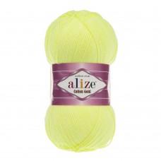 Пряжа для вязания Ализе Cotton gold (55% хлопок, 45% акрил) 5х100г/330м цв.668 лимонный