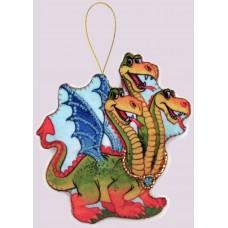 Наборы для вышивания декоративных игрушек BUTTERFLY  F108 Змей Горыныч