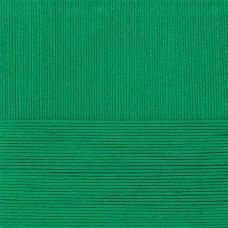 Пряжа для вязания ПЕХ Классический хлопок (100% мерсеризованный хлопок) 5х100г/250м цв.480 ярк.зелень