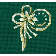 Набор для вышивания Сделай своими руками ССР.З-34 Золотые украшения.Цветок 12х12 см