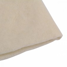 Наполнитель универсальный Шерстепон 150г/м² (70%шерсть / 30%ПЭ волокно) шир.150х100см цв.белый