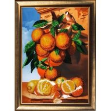 Набор для вышивания BUTTERFLY  135 Апельсиновая ветка 36х25 см