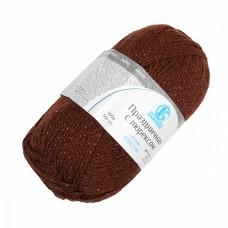 Пряжа для вязания КАМТ Праздничная (48% кашмилон, 48% акрил, 4% метанит) 10х50г/160м цв.127 грильяж