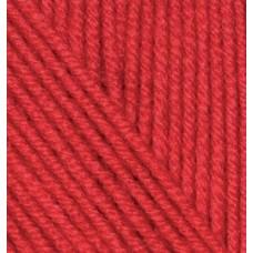 Пряжа для вязания Ализе Cashmira (100% шерсть) 5х100г/300м цв.056 красный