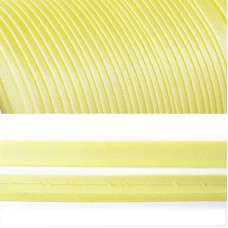 Косая бейка TBY атласная шир.15мм цв.F108 пастельно-желтый уп.132 м