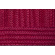 Пряжа для вязания ПЕХ Детский каприз тёплый (50% мериносовая шерсть, 50% фибра) 10х50г/125м цв.007 бордо