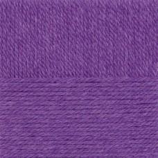 Пряжа для вязания ПЕХ Народная традиция (30% шерсть, 70% акрил) 10х100г/100м цв.078 фиолетовый
