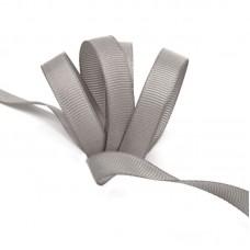 Лента Ideal репсовая в рубчик шир.10мм цв. 009 серый уп.27,42м