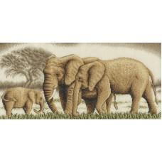 Набор для вышивания PANNA Золотая серия Ж-0596 Великолепное семейство 41 х 20 см