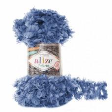 Пряжа для вязания Ализе Puffy Fur (100% полиэстер) 5х100г/6м цв.6116