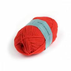 Пряжа для вязания ПЕХ Классический шнурок (60% хлопок, 40% акрил) 5х50г/135м цв.006 красный