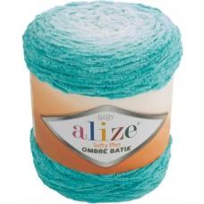Пряжа для вязания Ализе Softy Plus Ombre Batik (100% микрополиэстер) 1х500г/600м цв.7286