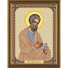 Наборы для вышивания бисером НОВА СЛОБОДА С 6128  Св.Ап.Петр 13x17 см