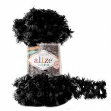 Пряжа для вязания Ализе Puffy Fur (100% полиэстер) 5х100г/6м цв.6101