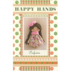 Набор для изготовления текстильной игрушки HAPPY HANDS МК-02 15 см Софийка