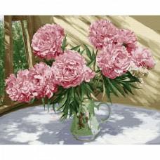Картины по номерам на дереве Molly KD0712 Бузин. На солнечной веранде (27 цветов) 40х50 см