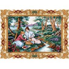 Набор для вышивания Classic Design 4477 На лужайке 40х30 см