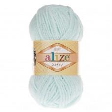 Пряжа для вязания Ализе Softy (100% микрополиэстер) 5х50г/115м цв.015 водяная зелень