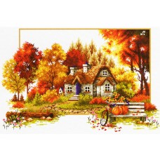 Набор для вышивания Classic Design 8310 Осенняя история 42х27 см