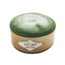Пряжа для вязания Ализе Angora Gold Ombre Batik (20% шерсть, 80% акрил) 4х150г/825м цв.7297