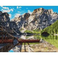 Картины по номерам Горная переправа GX26742 40х50 тм Цветной