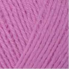 Пряжа для вязания ПЕХ Детский каприз трикотажный (50% мериносовая шерсть, 50% фибра) 5х50г/400м цв.029 розовая сирень