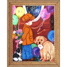 Рисунок на ткани BUTTERFLY  CA455 Приглашение на свидание 35х26 см