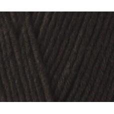 Пряжа для вязания Ализе Cotton Baby Soft (50% хлопок, 50% акрил) 5х100г/270м цв.060 черный