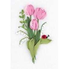 Набор для вышивания PANNA Живая картина  ЖК-2135 Нежность весны 11х16 см