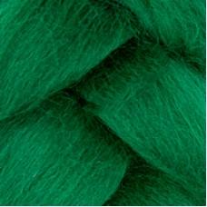 Шерсть для валяния КАМТ Лента для валяния (шерсть п/т 100%) 1х50г/2,1м цв.110 зеленый