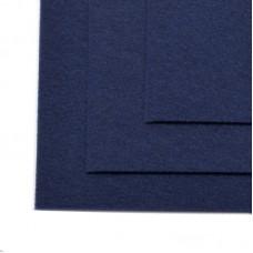 Фетр листовой жесткий IDEAL 1мм 20х30см FLT-H1 уп.10 листов цв.673 т.синий