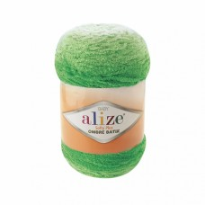 Пряжа для вязания Ализе Softy Plus Ombre Batik (100% микрополиэстер) 1х500г/600м цв.7287