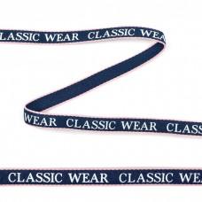 Тесьма-стропа TBY декоративная Classic wear TPP03107 шир.10мм цв. т.синий уп.45,7м