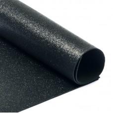 Фоамиран глиттерный Magic 4 Hobby 2 мм MG.GLIT.H019 цв.черный, 20х30 см