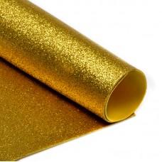Фоамиран глиттерный Magic 4 Hobby 2 мм MG.GLIT.H032 цв.золото, 20х30 см