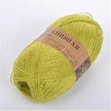 Пряжа для вязания ПЕХ Крапивная (100% крапива) 5х50г/250м цв.119 горох
