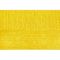 Пряжа для вязания ПЕХ Школьная (100% акрил) 5х50г/150м цв.012 желток