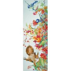 Набор для вышивания PANNA Живая картина ЖК-2096 Щедрая осень 43х15 см