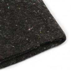 Наполнитель универсальный Шерстепон 150г/м² (30%шерсть / 70%ПЭ волокно) шир.150см цв.графит уп.50м