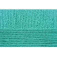 Пряжа для вязания ПЕХ Цветное кружево (100% мерсеризованный хлопок) 4х50г/475м цв.581 св.изумруд