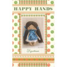 Набор для изготовления текстильной игрушки HAPPY HANDS МК-03 15см Кристина