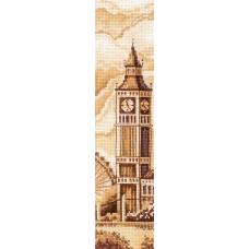 Набор для вышивания СДЕЛАЙ СВОИМИ РУКАМИ З-53 Закладки. Лондон 5,5х22 см