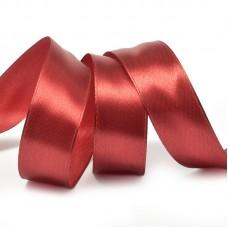 Лента атласная 3/4 (20мм) цв.3091 т.красный IDEAL уп.27,4 м