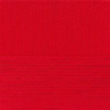 Пряжа для вязания ПЕХ Классический хлопок (100% мерсеризованный хлопок) 5х100г/250м цв.006 красный