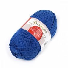 Пряжа для вязания ПЕХ Всесезонная (25% шерсть, 30% хлопок, 45%акрил) 5х100г/320м цв.026 василек