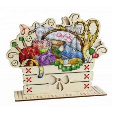Набор для вышивания Щепка О-038 Рукодельный уголок 14х17 см