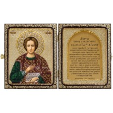 Наборы для вышивания бисером НОВА СЛОБОДА СЕ7108 Св. Великомученик и Целитель Пантелеймон